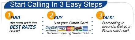 Buy cheap prepaid phone cards and international calling cards online!